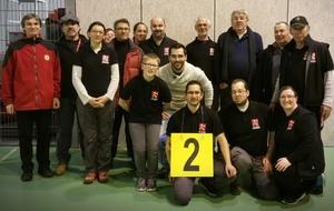 Championnat Départemental 56 - Parcours et résultats de nos archers